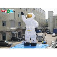 Wholesale Oxford Cloth 10m Inflatable Astronaut Cartoon Characters With Air Blower from china suppliers
