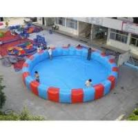 Wholesale 210D Coated Nylon Inflatable Water Pool IP32 Used in front of Park  from china suppliers