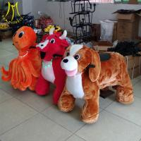 Hansel high quality coin operated electrical animal toy car for mall