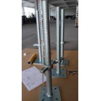 China Construction Scaffolding Adjustable Base Jack With Swivel Base Plate on sale