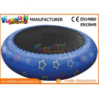 Wholesale 0.9mm PVC Hot Welding Inflatable Water Toys / Blow Up Trampoline With Logo Printing from china suppliers