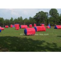 Custom Size Inflatable Sports Games Red Color Airball Field Paint Ball For Kids