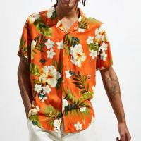 Wholesale 2019 New Fashion Short Sleeve Printed Shirts for Men from china suppliers