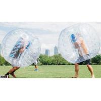 Buy cheap Adults PVC / TPU Inflatable Human Bubble Ball Durability Transparent Color from wholesalers