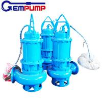 Wholesale WQ Sewage Industrial submersible sump electric water centrifugal pump coal mine from china suppliers
