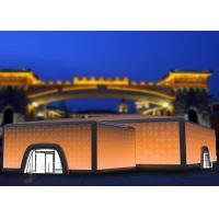 Novel Lighting Cube Inflatable Building Inflatable Event Tent PVC Tarpaulin