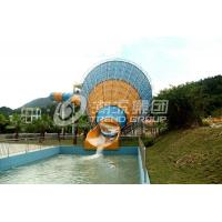 China Water Playground Equipment / Fiberglass Water Slides in Themed Water Park on sale