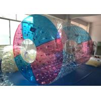 Wholesale Commercial Polyether TPU Jumbo Water Rolling Inflatable Ball / Tube Toys from china suppliers