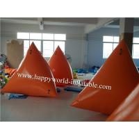 Wholesale Inflatable floating triangle , inflatable floating cube from china suppliers
