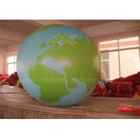 China Advertising Inflatable Globe Ball Full Printing Helium Inflatable Planet on sale