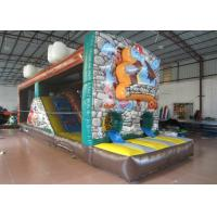 Wholesale The Stone Age Closed Inflatable Jumping House,Hot sale Inflatable Animals Bouncer from china suppliers