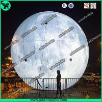 Buy cheap Lighting Inflatable Moon,Event Inflatable Moon,Club Hanging Decoration from wholesalers