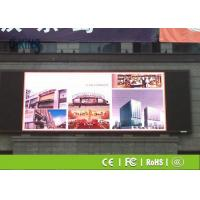 Buy cheap Highly Stable Distributed Scanning Advertising LED Display P16 Outside LED from wholesalers