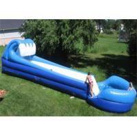 China Long Inflatable Commercial Water Slide For Grassland , Inflatable Pool Water Slide on sale