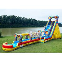 Wholesale Animal Theme Inflatable Water Slides , Customized Size 25 FT Target Slip N Slide from china suppliers