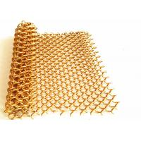 Buy cheap Spiral Weave Diameter 1.2mm Aluminum Mesh Fabric For Hotal Decoration Ceiling from wholesalers