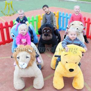 Wholesale Hansel motorized animals motorized animals motorized plush riding animals from china suppliers