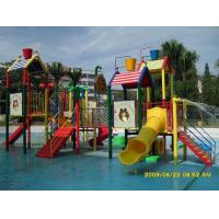 Wholesale Outdoor Commercial Safety Fiberglass Water Playground Slides Equipment for Children from china suppliers