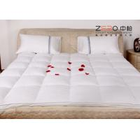 Wholesale Stain Resistant Hotel Mattress Topper Single / Double Size Available ZB-MT-10 from china suppliers
