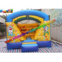 China Garden Clown Balloon Inflatable Bounce House , PVC inflatable Jumping Castles For Kids on sale