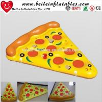 Wholesale 2016 Stock Giant PVC air bed inflatable pizza float from china suppliers