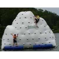 Wholesale Custom Hot Air Welding Workmanship 3 Sides Climbing Wall Inflatable Iceberg  from china suppliers