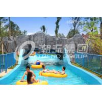 Different Length Water Park Lazy River Equipment Pump Power Commercial Use