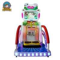 Wholesale Kids Lottery Ticket Redemption Machine Happy Jump Racing Type Custom Logo from china suppliers