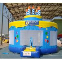 Buy cheap Birthday cake Inflatable bouncer from wholesalers