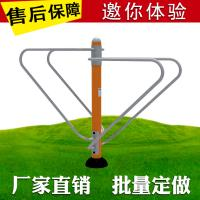 Wholesale Reliable Outdoor Workout Equipment , Open Air Fitness Equipment Steel Material from china suppliers