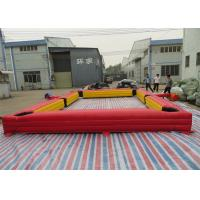 China Simple Inflatable Sports Games Inflatable Billiards And Soccer Football Games on sale
