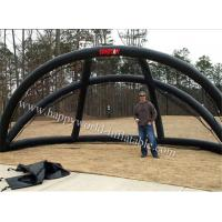 portable pvc inflatable batting cage  , inflatable hitting cage for sale