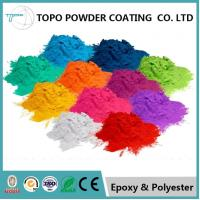 China Display Baskets Metallic Powder Coat 25-30μM Particle BV ROHS Standard for sale