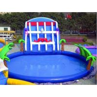 Wholesale Adults PVC Inflatable Aqua Water Game Park With Slide from china suppliers