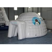 Wholesale Mini Inflatable Igloo Tent / Blow Up Igloo Tent Playhouse For Rental from china suppliers