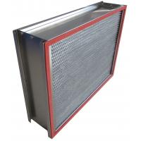 Wholesale H13 SUS Frame Deep Pleated High Temp Hepa Filter 0.3um Particulate from china suppliers