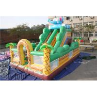 China 2015 inflatable game toys used playground slides for sale, inflatable slide on sale