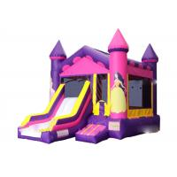 Wholesale Doll Princess Inflatable Jumping Castle / Jumping Blow Up Castle 4M× 6M× 4M from china suppliers
