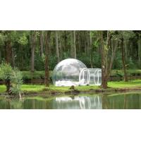 Wholesale Transparent inflatable bubble camping tent,clear inflatable lawn tent from china suppliers