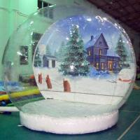 Wholesale Inflatable snow globe for advertising purpose from china suppliers