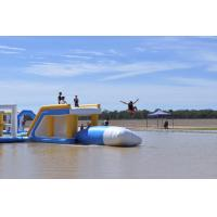 Quality Commercial Grade Inflatable Water Jump Pillow For Lake / Sea / Pool for sale