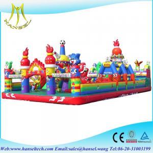 Hansel PVC material high quality china inflatable bouncers commercial inflatable bouncers