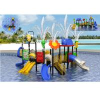 Wholesale Summer Child Outdoor Water Park Equipment For 10-30 People / Water Park Playground from china suppliers