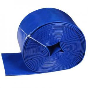 China Irrigation Soft PVC 450g 0.35mm Layflat Water Hose on sale