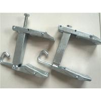 China Hot Dip Galvanized Steel Wire Clamp / Cable Clamp With Custom Various Size on sale