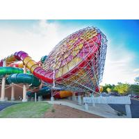 Beautiful Great Wolf Lodge Water Slides Tornado Twist Water Slide / Large Water Slide