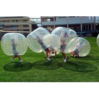 Buy cheap Transparent Color Inflatable Bubble Soccer Ball , Diameter 1.5 M Human Bubble from wholesalers