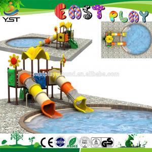 Sea Sailing Series Kids Water Slide , Stable Outdoor Playground Equipment