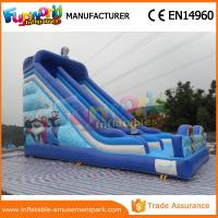 Wholesale PVC Frozen Commercial Inflatable Slide Dry Inflatable Stairs Slide Toys For Kids from china suppliers