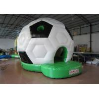 Waterproof PVC Kids Inflatable Bounce House / Classic Inflatable Football Bouncy Castle